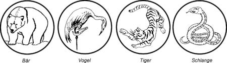 Vorzeitliche Tierkonzepte (aus Karate Kumite)